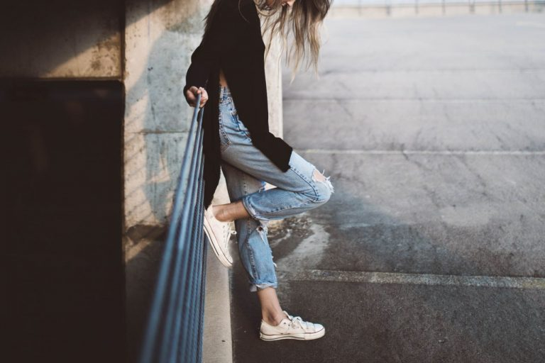 Ripped Jeans Never Go Out Of Fashion